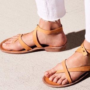NEW Free People Landings Asymmetrical Sandals